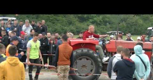 2020 Svilaj - Takmičenje prevlačenje traktora preko crte-2 kate